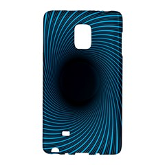 Background Spiral Abstract Pattern Samsung Galaxy Note Edge Hardshell Case