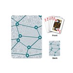 Network Social Abstract Playing Cards (Mini)  Back