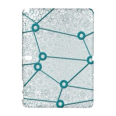Network Social Abstract Samsung Galaxy Note 10 1 (p600) Hardshell Case