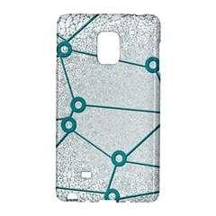 Network Social Abstract Samsung Galaxy Note Edge Hardshell Case