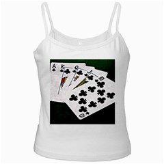 Poker Hands   Royal Flush Clubs Ladies Camisoles