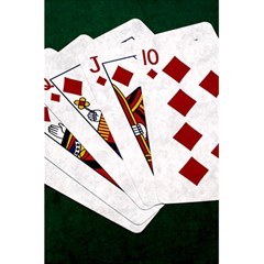 Poker Hands   Royal Flush Diamonds 5 5  X 8 5  Notebooks by FunnyCow