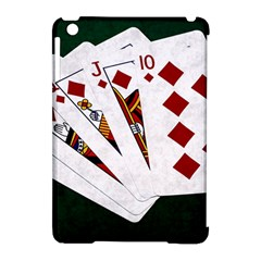 Poker Hands   Royal Flush Diamonds Apple Ipad Mini Hardshell Case (compatible With Smart Cover) by FunnyCow