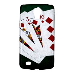 Poker Hands   Royal Flush Diamonds Samsung Galaxy S4 Active (i9295) Hardshell Case by FunnyCow