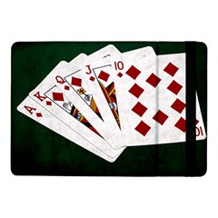 Poker Hands   Royal Flush Diamonds Samsung Galaxy Tab Pro 10 1  Flip Case by FunnyCow
