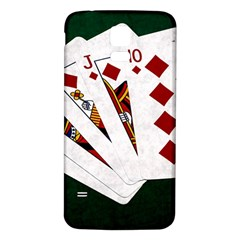 Poker Hands   Royal Flush Diamonds Samsung Galaxy S5 Back Case (white) by FunnyCow