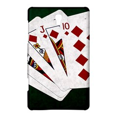 Poker Hands   Royal Flush Diamonds Samsung Galaxy Tab S (8 4 ) Hardshell Case  by FunnyCow