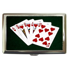 Poker Hands   Royal Flush Hearts Cigarette Money Cases by FunnyCow
