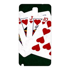 Poker Hands   Royal Flush Hearts Samsung Galaxy Note 3 N9005 Hardshell Back Case