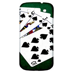 Poker Hands   Royal Flush Spades Samsung Galaxy S3 S Iii Classic Hardshell Back Case by FunnyCow