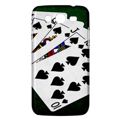 Poker Hands   Royal Flush Spades Samsung Galaxy Mega 5 8 I9152 Hardshell Case  by FunnyCow