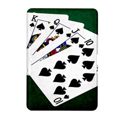 Poker Hands   Royal Flush Spades Samsung Galaxy Tab 2 (10 1 ) P5100 Hardshell Case  by FunnyCow