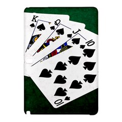 Poker Hands   Royal Flush Spades Samsung Galaxy Tab Pro 10 1 Hardshell Case by FunnyCow