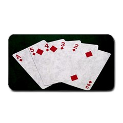 Poker Hands   Straight Flush Diamonds Medium Bar Mats by FunnyCow