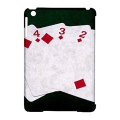 Poker Hands   Straight Flush Diamonds Apple Ipad Mini Hardshell Case (compatible With Smart Cover) by FunnyCow
