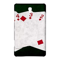 Poker Hands   Straight Flush Diamonds Samsung Galaxy Tab S (8 4 ) Hardshell Case  by FunnyCow