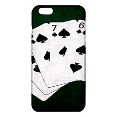 Poker Hands Straight Flush Spades Iphone 6 Plus/6s Plus Tpu Case by FunnyCow