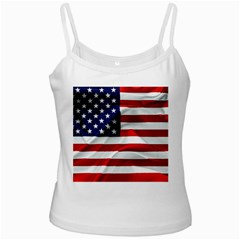 American Usa Flag Ladies Camisoles by FunnyCow