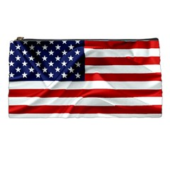 American Usa Flag Pencil Cases by FunnyCow