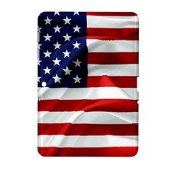 American Usa Flag Samsung Galaxy Tab 2 (10 1 ) P5100 Hardshell Case  by FunnyCow