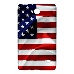 American Usa Flag Samsung Galaxy Tab 4 (7 ) Hardshell Case  by FunnyCow