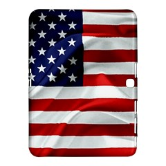 American Usa Flag Samsung Galaxy Tab 4 (10 1 ) Hardshell Case  by FunnyCow