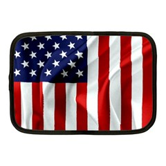 American Usa Flag Vertical Netbook Case (medium)  by FunnyCow