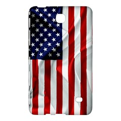 American Usa Flag Vertical Samsung Galaxy Tab 4 (7 ) Hardshell Case  by FunnyCow