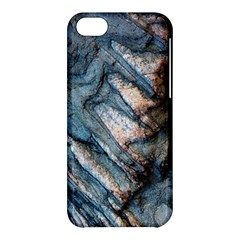 Earth Art Natural Rock Grey Stone Texture Apple Iphone 5c Hardshell Case by CrypticFragmentsDesign