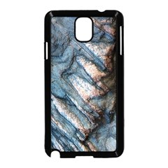 Earth Art Natural Rock Grey Stone Texture Samsung Galaxy Note 3 Neo Hardshell Case (black) by CrypticFragmentsDesign