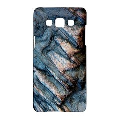 Earth Art Natural Rock Grey Stone Texture Samsung Galaxy A5 Hardshell Case  by CrypticFragmentsDesign