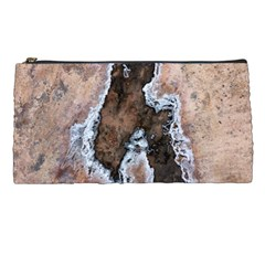 Earth Art Natural Texture Salt Of The Earth Pencil Cases by CrypticFragmentsDesign