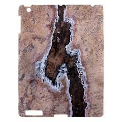 Earth Art Natural Texture Salt Of The Earth Apple Ipad 3/4 Hardshell Case by CrypticFragmentsDesign