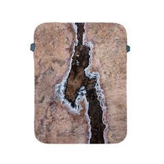 Earth Art Natural Texture Salt Of The Earth Apple Ipad 2/3/4 Protective Soft Cases by CrypticFragmentsDesign