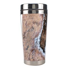 Earth Art Natural Texture Salt Of The Earth Stainless Steel Travel Tumblers by CrypticFragmentsDesign