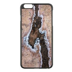 Earth Art Natural Texture Salt Of The Earth Apple Iphone 6 Plus/6s Plus Black Enamel Case by CrypticFragmentsDesign