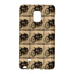 Indian Motorcycle Samsung Galaxy Note Edge Hardshell Case by ArtworkByPatrick1