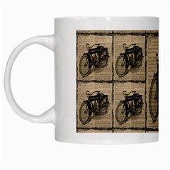 Indian Motorcycle 1 White Mugs by ArtworkByPatrick1
