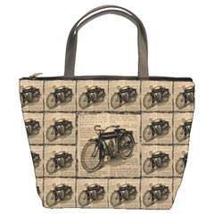 Indian Motorcycle 1 Bucket Bags by ArtworkByPatrick1