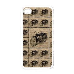 Indian Motorcycle 1 Apple Iphone 4 Case (white) by ArtworkByPatrick1