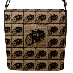 Indian Motorcycle 1 Flap Messenger Bag (s) by ArtworkByPatrick1