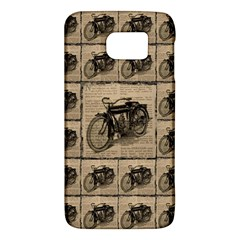 Indian Motorcycle 1 Samsung Galaxy S6 Hardshell Case  by ArtworkByPatrick1