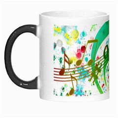 Points Circle Music Pattern Morph Mugs