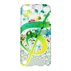 Points Circle Music Pattern Apple Ipod Touch 5 Hardshell Case by Nexatart