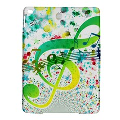 Points Circle Music Pattern Ipad Air 2 Hardshell Cases by Nexatart