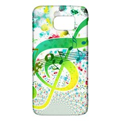 Points Circle Music Pattern Samsung Galaxy S6 Hardshell Case