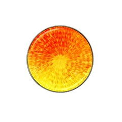 Abstract Explosion Blow Up Circle Hat Clip Ball Marker (4 Pack)