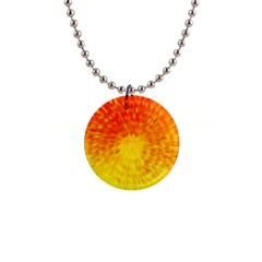 Abstract Explosion Blow Up Circle Button Necklaces