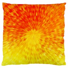 Abstract Explosion Blow Up Circle Large Cushion Case (two Sides)