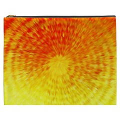 Abstract Explosion Blow Up Circle Cosmetic Bag (xxxl)